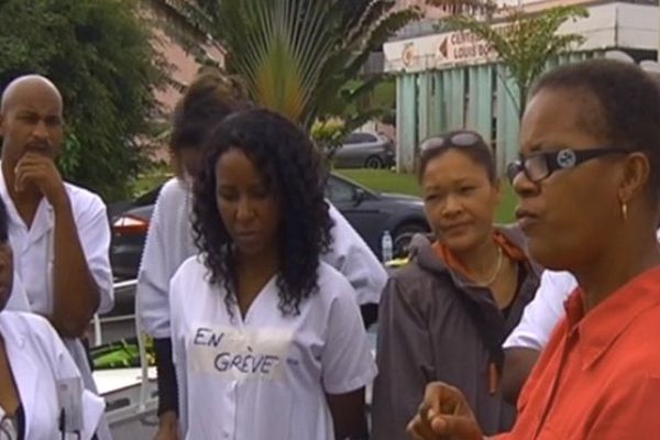 Grève hôpital Trinité