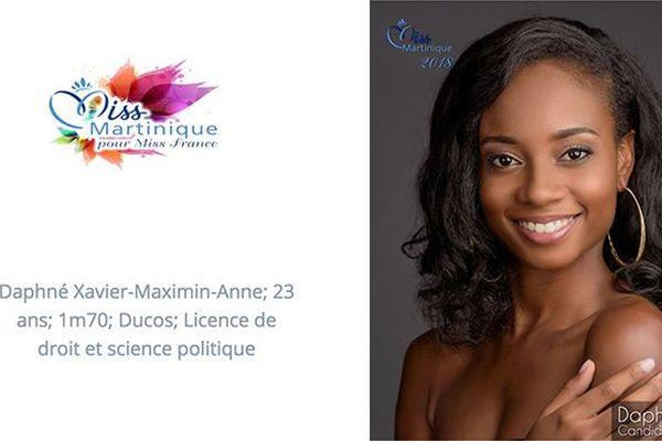 Miss 8 Daphné Xavier-Maximin