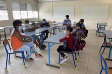 Salle de classe en Martinique (illustration).
