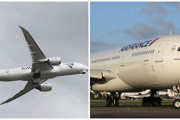 avionns air austral et air France