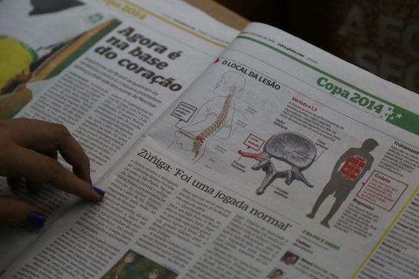 journaux Neymar