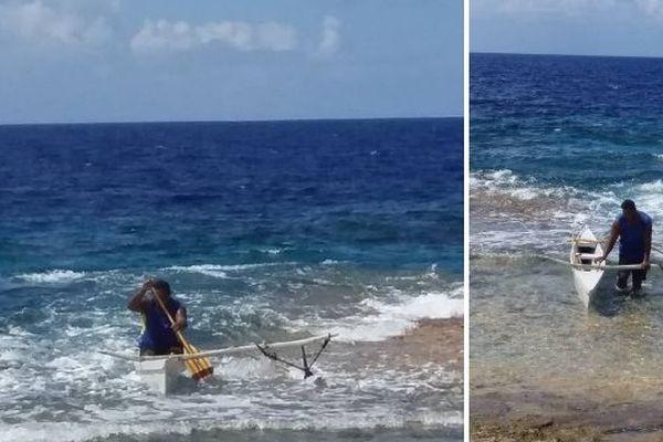 Tuamotu : un pêcheur échappe aux requins
