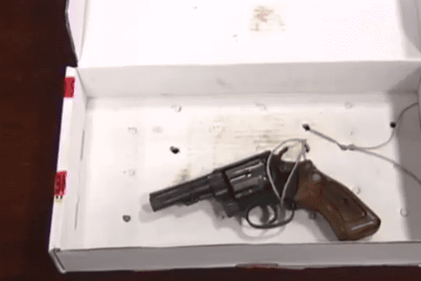 L'arme qui a tué Amélie Gaillard