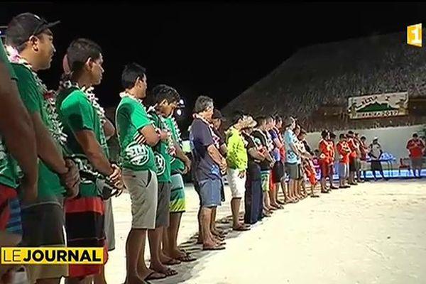 Bora Bora : début du concours de pêche sous-marine