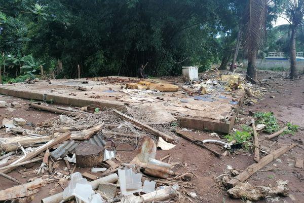 Destruction cases illégales Mhogoni Dzoumogné