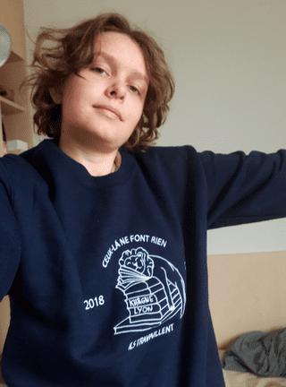 Clara rentre à l'ENS Lyon ce 2 septembre 2019