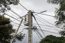 Le réseau électrique à La Réunion (photo d'illustration).