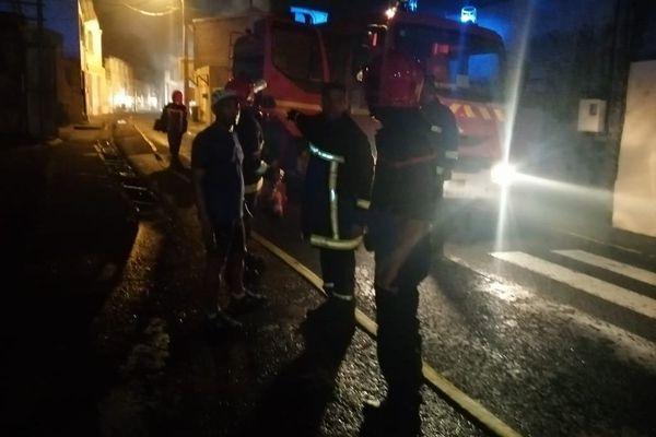 Pompiers en action
