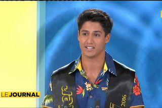 Invité du journal : Gill Handerson Mister Tahiti 2016