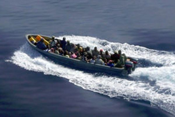Une embarcation clandestine photographiée en 2009