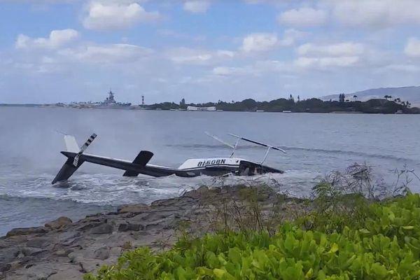 crash hélico hawaii