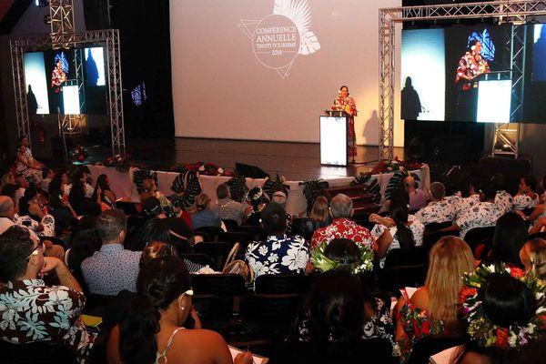 Conférence annuelle de Tahiti tourisme 2018