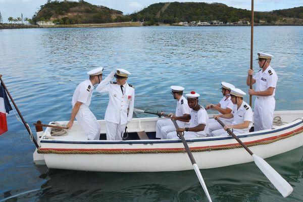 Passation de commandement base navale Nouméa