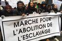 Une nouvelle manifestation à Paris contre l'esclavage en Lybie