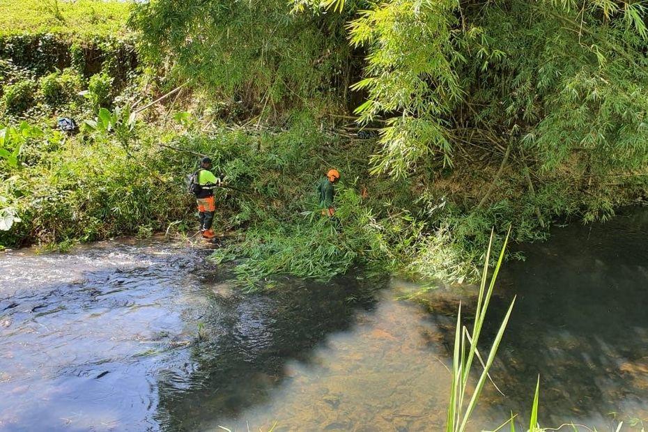 Rivières : des chantiers menés par l'ONF pour limiter les risques d'inondation - Guadeloupe la 1ère
