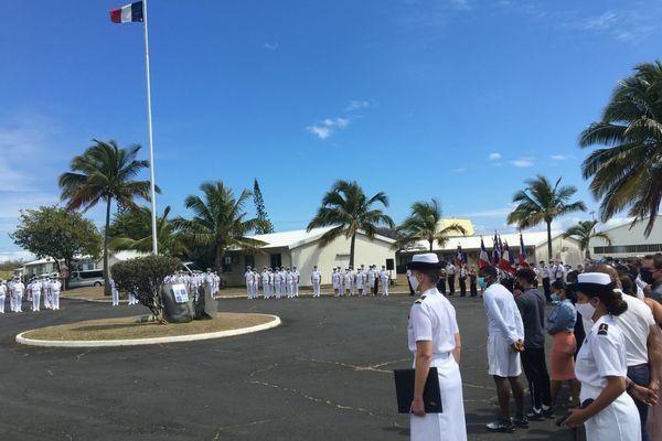 Hommage à Roland Garros à la base aérienne 181