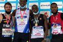 Le sprinteur guyanais Loïc Prévot champion de France élite du 200m