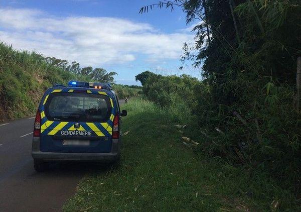 Sainte-marie sortie de route accident mortel bagatelle gendarmerie 260519