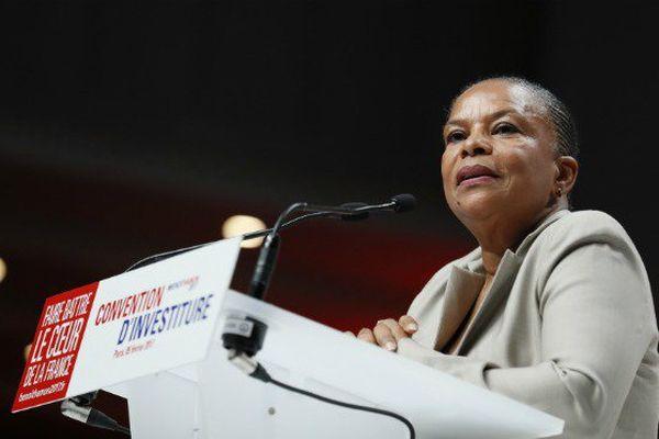 """Christiane Taubira ne croit pas à """"la défaite inéluctable de la gauche"""""""
