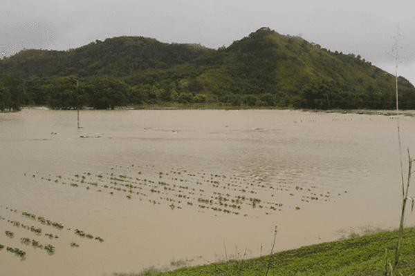 propriété inondée