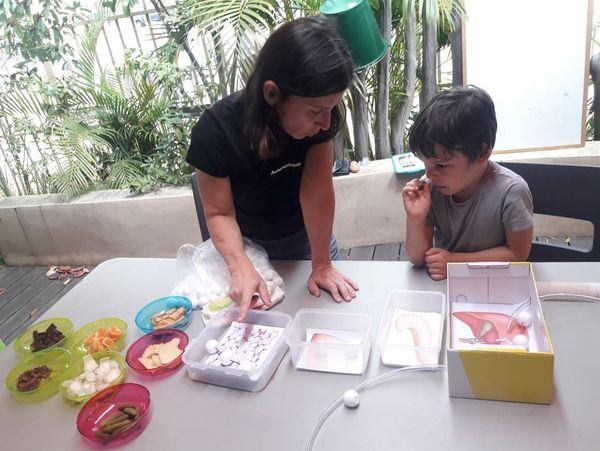 Atelier santé dans l'assiette, enfant, Maison de la famille, 28 septembre 2019