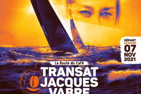 Affiche transat Jacques Vabre