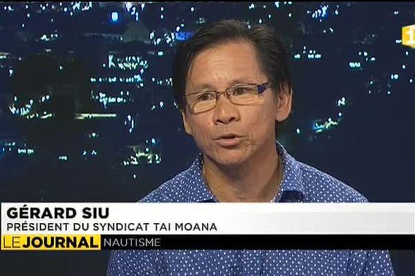Gérard Siu, président du syndicat Tai Moana organisateur de l'évènement.