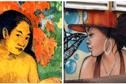 Même Gauguin se met aux graffitis !
