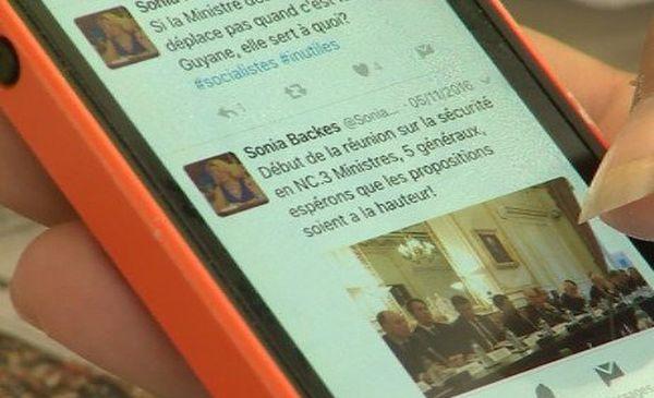 Capture cyber campagne électorale internet web élections législatives smartphone appli backès (22 mai 2017)