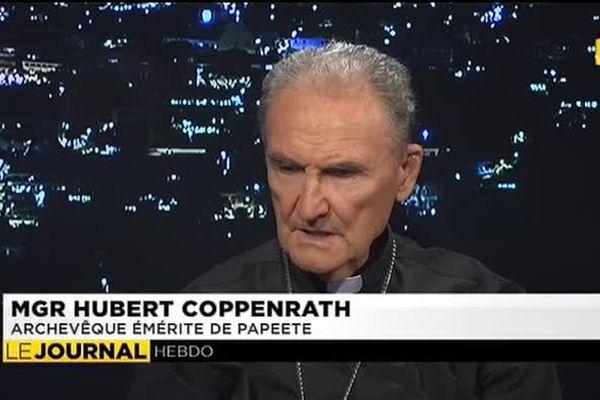 Monseigneur Hubert Coppenrath, archevêque émérite de Papeete était l'invité du journal du dimanche 11 janvier 2015.