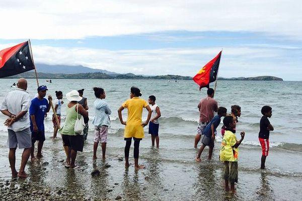 Compétition de nage en eau libre, PNG2015