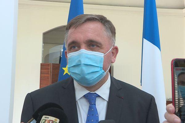 Thierry Queffelec, préfet de la Guyane