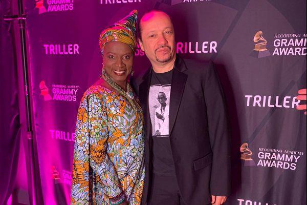 Angélique Kidjo et David Donatien.