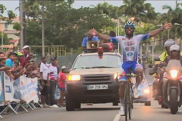Mickaël Laurent champion de Martinique sur route