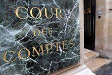 Image de la façade de la Cour des comptes, à Paris.