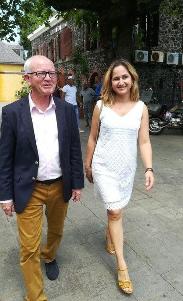 Jean-Luc Poudroux et sa suppléante Graziella Vergoz Législative partielle 7ème circonscription 23 septembre 2018