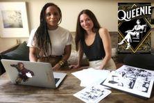 """Elizabeth Colomba et Aurélie Lévy ont co-écrit la BD """"Queenie, la marraine de Harlem""""."""