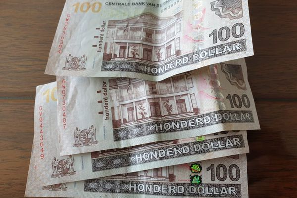 Le dollar surinamais