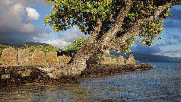 le marae de Taputapuatea sur l'île de Raiatea
