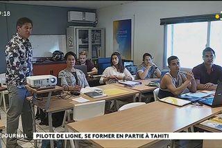 La formation des pilotes de ligne étend ses ailes à Tahiti