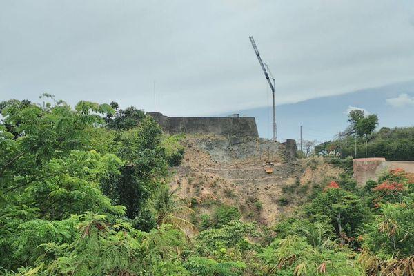 Fort Delgrès en Travaux 2