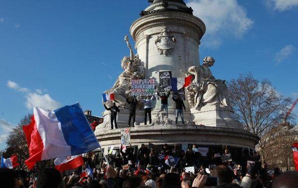 rassemblement silencieux paris 11 janvier