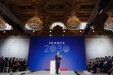 """Le Président de la République Emmanuel Macron présente le plan d'investissement """"France 2030"""""""