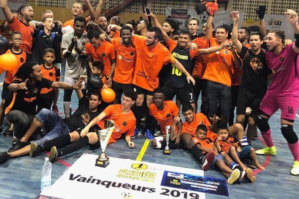 Futsal FC Montjoly champion pour la 2ème année consécutive
