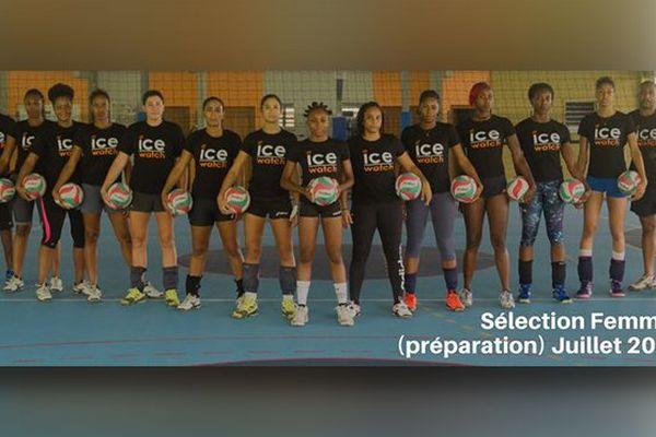 sélection femme volley-ball