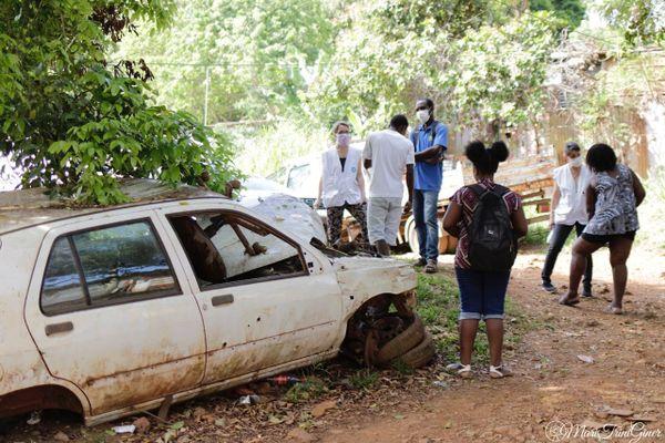 Médecins du monde dans les quartiers informels de l'agglomération de Cayenne