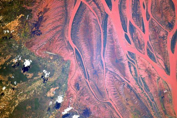 Madagascar vue de l'espace avec les incroyables photos de Thomas Pesquet