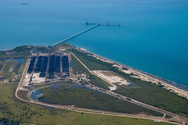 Port d'Abott Point en Australie