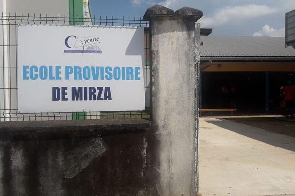 Ecole provisoire de Mirza