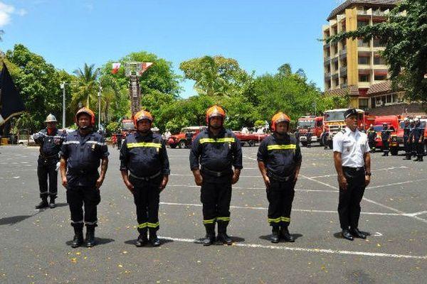 La sainte Barbe célébrée, les pompiers honorés